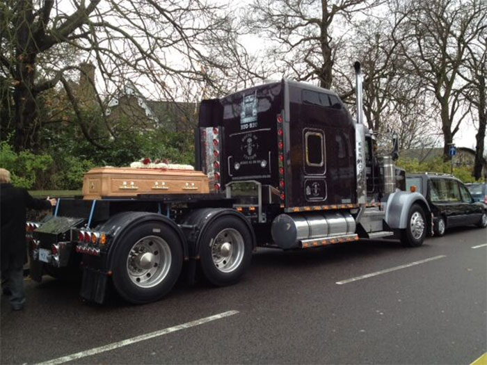 Funeral Transport - Big Truck