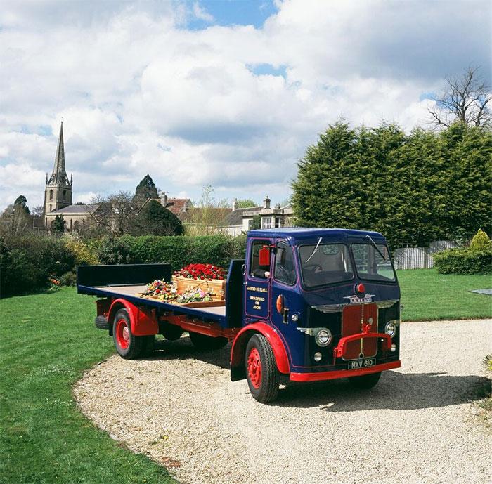 Funeral Transport - Vintage Lorry