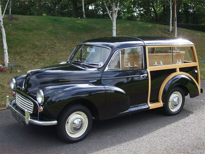 Funeral Transport - Morris Minor