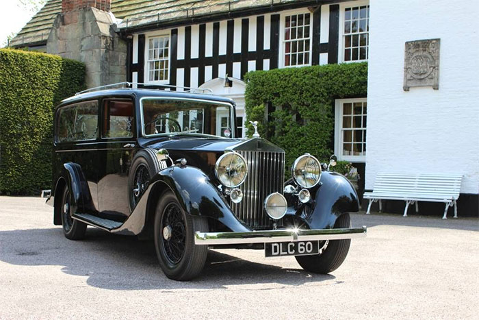 Funeral Transport - Rolls Royce